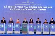 Thủ tướng Nguyễn Xuân Phúc dự Lễ động thổ dự án Thành phố thông minh