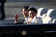 Hình ảnh Lễ diễu hành sau đăng quang của Nhật hoàng và Hoàng hậu
