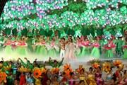 Những hình ảnh ấn tượng tại lễ khai mạc Festival hoa Đà Lạt lần thứ 8