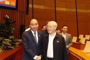 [Photo] Tổng Bí thư, Chủ tịch nước Nguyễn Phú Trọng dự phiên chất vấn