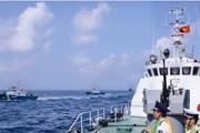 Cảnh sát biển đã tiếp cận vào phía Tây giàn khoan Trung Quốc