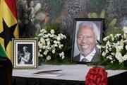 Người dân Ghana đổ về ghi sổ tang cố Tổng Thư ký LHQ Kofi Annan