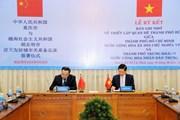 TP.HCM và Trùng Khánh thiết lập quan hệ thành phố hữu nghị
