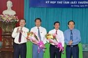 Bầu bổ sung Phó Chủ tịch Ủy ban Nhân dân tỉnh An Giang