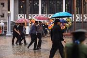 Hình ảnh người Hà Nội và các tỉnh đội mưa đến viếng Chủ tịch nước