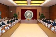 Trưởng Ban Tổ chức TW tiếp Đặc phái viên của Thủ tướng Nhật Bản