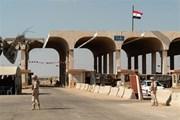 Cửa khẩu chính giữa Jordan và Syria mở lại sau 3 năm gián đoạn