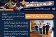 Lần đầu tiên ra mắt sân chơi robot kết nối doanh nghiệp với sinh viên
