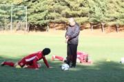 Đội tuyển Việt Nam thoải mái luyện tập ở quê hương ông Park Hang-seo