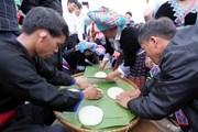 Độc đáo lễ hội thi giã bánh giầy của đồng bào dân tộc Mông