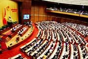 Hình ảnh phiên khai mạc Kỳ họp thứ sáu, Quốc hội khóa XIV