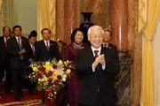 Tổng Bí thư, Chủ tịch nước gặp mặt Văn phòng Chủ tịch nước