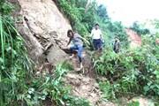 Hà Giang: Đã thông tuyến đường vào vùng bị cô lập do lũ ống