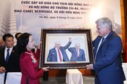 Hình ảnh hoạt động của Chủ tịch Hội đồng Nhà nước Cuba tại Việt Nam