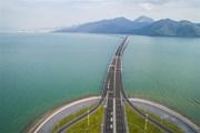 Cây cầu vượt biển dài nhất thế giới tại Trung Quốc sẽ có mạng 5G