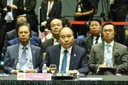 Hình ảnh các hoạt động của Thủ tướng Nguyễn Xuân Phúc tại Singapore