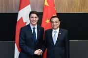 Canada và Trung Quốc thúc đẩy Hiệp định thương mại tự do