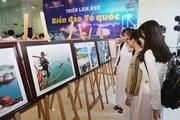 """Trao giải và triển lãm Cuộc thi ảnh nghệ thuật """"Biển, đảo quê hương"""""""