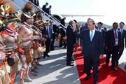 Hình ảnh Thủ tướng Nguyễn Xuân Phúc đến Papua New Guinea