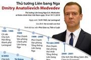 Quá trình hoạt động của Thủ tướng Nga Dmitry Anatolievich Medvedev