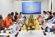 Hội đàm giữa hai Đoàn đại biểu mặt trận Việt Nam và Campuchia