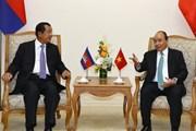 Thủ tướng Chính phủ Nguyễn Xuân Phúc hội đàm với Thủ tướng Campuchia