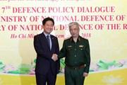Việt Nam-Hàn Quốc tăng cường hợp tác trong lĩnh vực quốc phòng