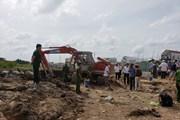 Cần Thơ: Nổ lớn tại công trình kè hồ Búng Xáng, hai người bị thương
