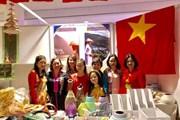 Giới thiệu văn hóa và ẩm thực Việt Nam tại Hội chợ từ thiện Ukraine