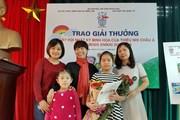 Học sinh giành giải thưởng lớn cuộc thi nhật ký thiếu nhi châu Á