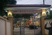 Phú Thọ: Khởi tố hiệu trưởng nghi lạm dụng tình dục nhiều nam sinh