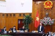 Thủ tướng chủ trì họp Tiểu Ban KT-XH chuẩn bị cho Đại hội Đảng