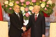 Tổng Bí thư, Chủ tịch nước hội kiến Quốc vương Campuchia
