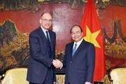 Thủ tướng Nguyễn Xuân Phúc tiếp Chủ tịch Hiệp hội Italy-ASEAN