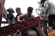 Đà Nẵng: Tháo dỡ 'biệt phủ' xây bằng gỗ của ông Ngô Văn Quang