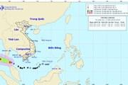 Bão số 1 đã mạnh lên cấp 9, giật cấp 12, cách đảo Thổ Chu 330km