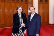 Thủ tướng Nguyễn Xuân Phúc tiếp Phó Chủ tịch Nghị viện châu Âu