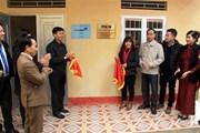 Thông tấn xã Việt Nam bàn giao công trình nhà công vụ tại Tuyên Quang