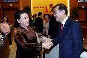 Chủ tịch Quốc hội tiếp Chủ tịch Nhóm nghị sỹ hữu nghị Hàn-Việt