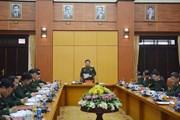 Yêu cầu Bộ Tổng tham mưu chủ động đổi mới, sẵn sàng chiến đấu