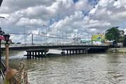 Hải Phòng tạm ngừng hoạt động luồng hàng hải đoạn cầu Hoàng Văn Thụ