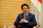 Thủ tướng Nhật Bản Shinzo Abe trả lời phỏng vấn dành riêng cho TTXVN