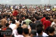 Phú Thọ: Yêu cầu tạm dừng phần cướp phết tại Lễ hội phết Hiền Quan