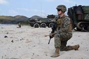 Mỹ, Thái Lan và Hàn Quốc tiến hành tập trận đổ bộ Hổ mang vàng