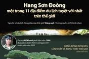 Hang Sơn Đoòng - một trong 11 địa điểm du lịch tuyệt vời nhất thế giới