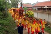 Lễ đúc chuông chùa Côn Sơn tại Lễ hội mùa Xuân Côn Sơn-Kiếp Bạc