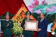 Hình ảnh Thủ tướng dự Lễ kỷ niệm 60 năm Ngày Bộ đội Biên phòng