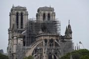 Hình ảnh Nhà thờ Đức Bà Paris sau vụ cháy kinh hoàng