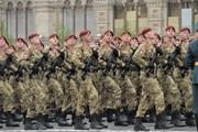 Hình ảnh các cựu binh và binh sỹ Nga trên Quảng trường Đỏ
