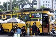 Độc đáo quán càphê buýt thân thiện với môi trường tại Hà Nội